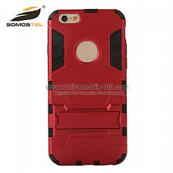 fundas para celulares 2 in 1 Superhéroe Iron Man TPU+PC estuche para iPhone and samsung