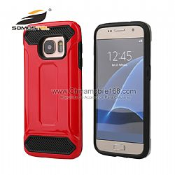 Vender bien 2 en 1 caso de TPU + PC Kingston fundas para Samsung Galaxy s7  rojo