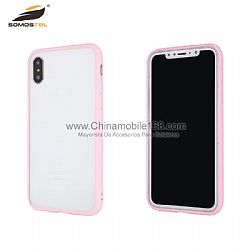 Utral thin transparent  phone case with flexible TPU bumper