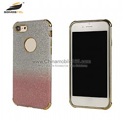 Anti choque carcasa TPU en galvanoplastia brillo para iphone 6/6 plus