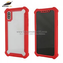 Fast delivery special design clear protect case with TPU bumper