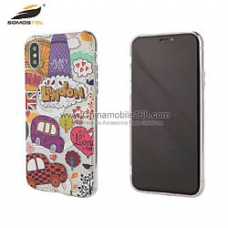 1.5mm 2 en 1 TPU +polvo brillante funda para Moto G4/G4Play