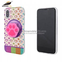Funda TPU+PC en gráfico 3D de UV con silicio cartoon para Samsung J5/J7