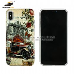 Newest 3D relief TPU+PC combo back cover phone case for samsung s9 plus