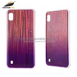 Factory outlet double-side flat IMD aurora gradient drawing case cover