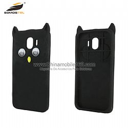 New custom 3D owl silicone phone case cover