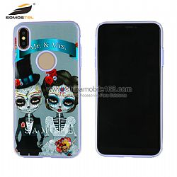Hot selling 3 in 1 phone protectors with colorful pattern deisgn