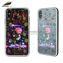 Luxury 3 in 1 laser drawing phone protector for Samsung S10