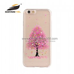 Hot sale life tree real pressed flowers phone case supplier