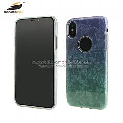 Lightweight 3 in 1 gradient color hybrid case for Samsung S9