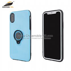 Wholesale cool armor plating 2 in 1 with ring case for Samsung S8/Note8
