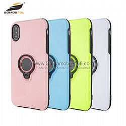For iPhone8/VIVO X9S 2 in 1 protector with magnet and ring
