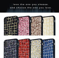 Anti choque hermosa fundas TPU+PC con brillante bling diseño para Iphone x 7 Plus 8Plus