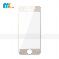 Transparent 3D Diamond Rhomb Design Tempered Glass Screen Protector for iPhone 5s