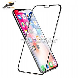 0.33MM thin 5D Tempered glass with full glue for Iphone/Samsung