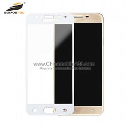 Wholesale 6D Tempered glass with full glue for J5 Prime