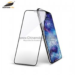 Utral clear 0.18mm 6D curved foldable tempered glass film for IphoneX