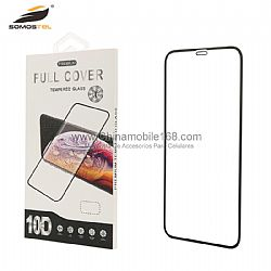 Anti-fingerprint full glue 10D tempered glass film for Moto E5/G6