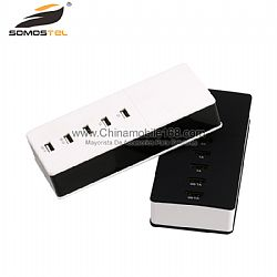 Universal 5 Port USB Charger Wall Travel Power Adapter for Smartphones