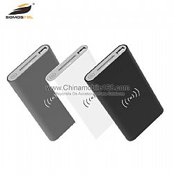8000mAH wireless and cable charging 2 in 1 power bank