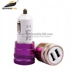 Mini USB Charger Fashion Bullet Effective Car Charger