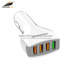 Wholesale 3.0 quick charge adapter 4 port USB car charger