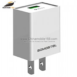 SMS-A101 quick charge 3.0 travel adapter with multiple protection
