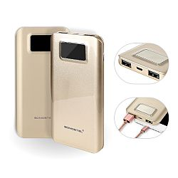 Mayoreo gran capacidad power bank del aceite brillante con pantalla digital