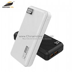 DC 5V/2.0A Max 20000mAh large capacity with digital LED display