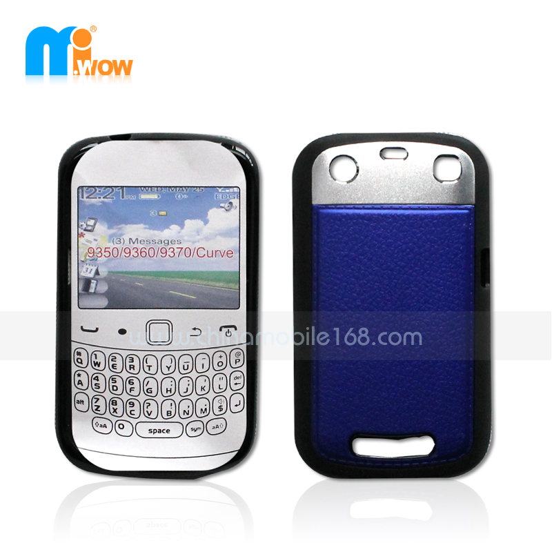 PC + TPU Funda 2 en 1 para Blackberry 9350/9360/9370
