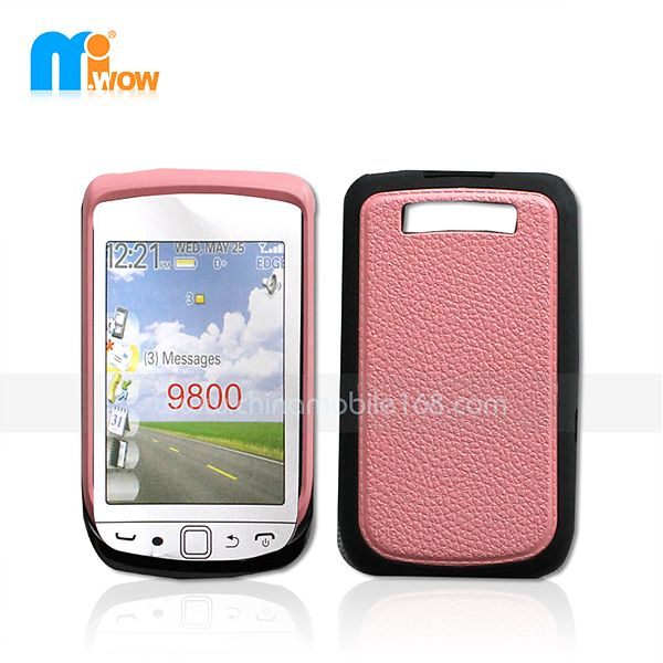 PC + TPU Funda 2 en 1 para Blackberry 9800