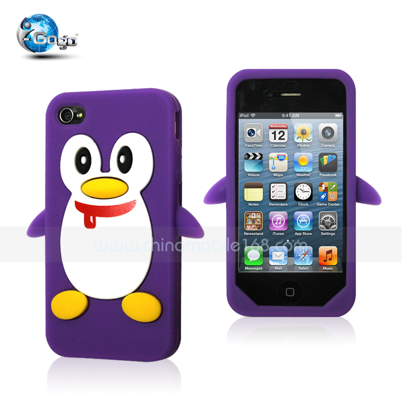 Silicon case for Iphone 4G/4S