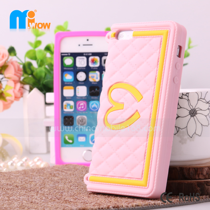 Silicone case for iPhone 4/4S/5/5S