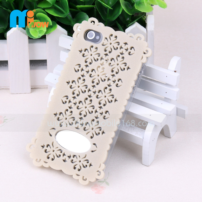 Funda de silicon+PC para  iPhone 4