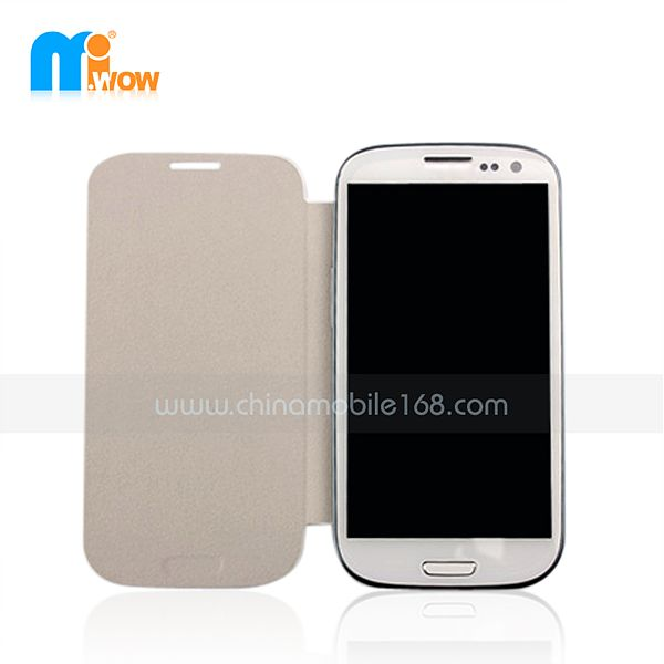 pc+pu flip cover for Samsung i9152