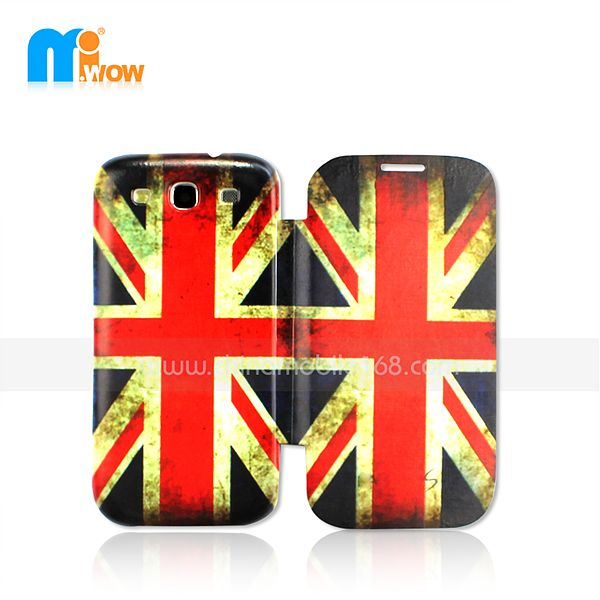 pc+pu flip cover for Samsung i9300