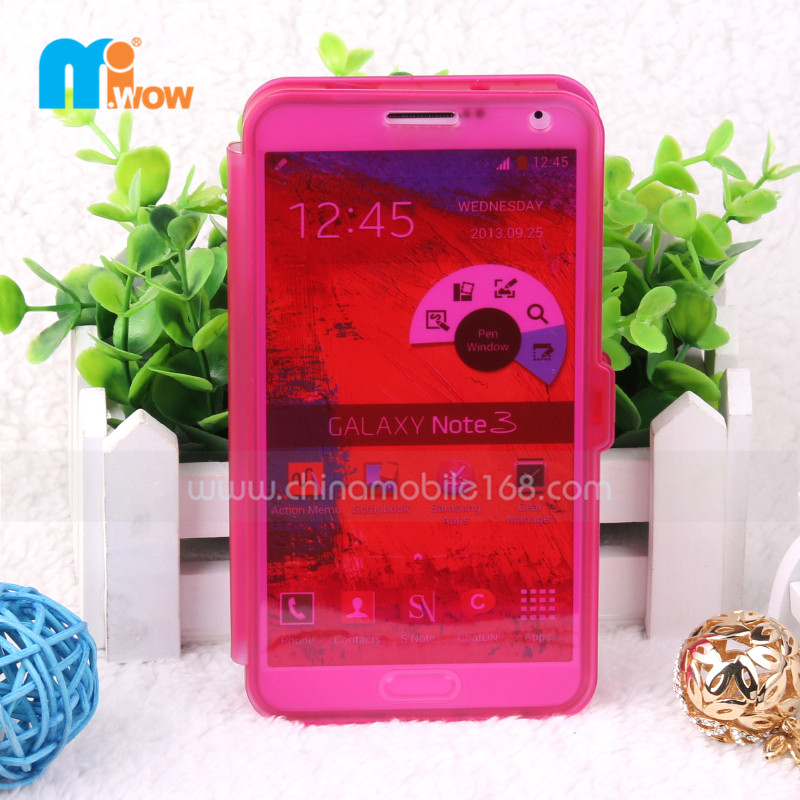 PC+PU case for Samsung Note3