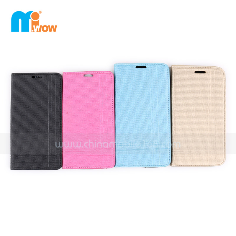 PU+TPU/PC flip cover for Samsung S5