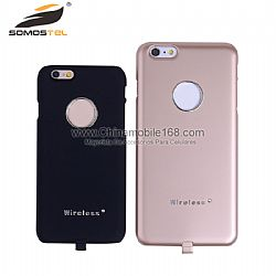 Wireless carga caso celular protectora para iPhone 6