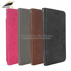 For HUAWEI P9/P10 lite shockproof foldable soft leather case