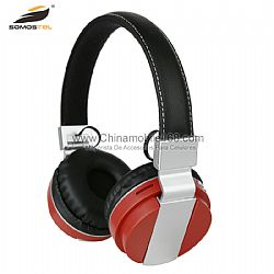 Fashionable bluetooth earphones with TF card and FM function