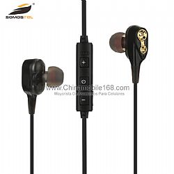 Good sound quality metal earphone with microphone