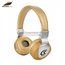 HD stereo on-ear bluetooth headphones with beautiful package