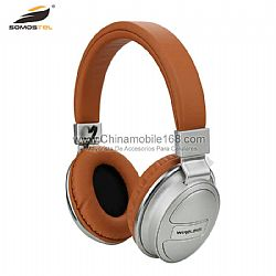 Fashionable folding bluetooth headset support SD card/FM radio