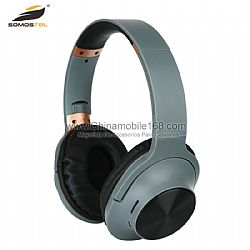 Luxury over-head wireless headset with multiple function