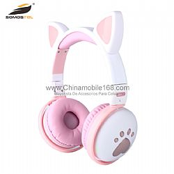 Auriculares LED RGB Cat Ear Various Color Are Available
