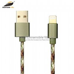 Cable with Camouflage USB Charging Data Line for Iphone