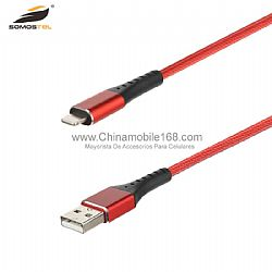 2.5A durable nylon braided fast charging cable