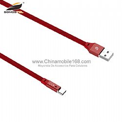 2.4A auto power off smart LED USB cable