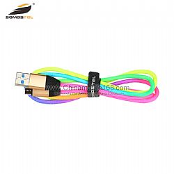 2.0A output cotton braided data USB cable